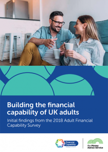 Image of report on building the financial capability of UK adults